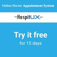 Online Doctor Appointment Software -HospitUX at UX Business Solutions in chennai