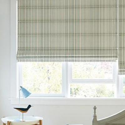 Roman shades at Blinds Spot in Ettumanoor