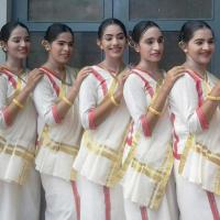 Margamkali Costumes at Nalanda Dance Collection in Perumbavoor
