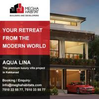 Aqua Lina at Megha Habitats in Kochi