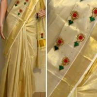 Kerala Saree at Chakkees Style Lines in Thrippunithura