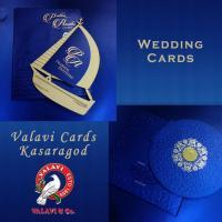 Invitation Card Printers in Kasaragod at Valavi Cards Kasaragod in Kasaragod