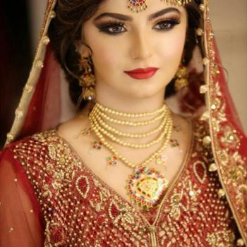 Bridal Makeup at Kadambari Beauty Clinic & Stitching in Haripad