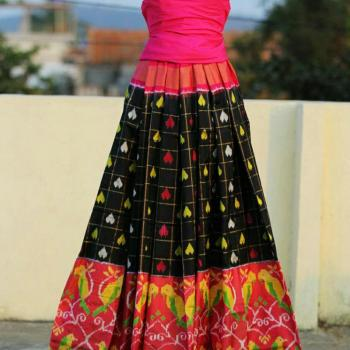 Lehenga at Kadambari Beauty Clinic & Stitching in Haripad