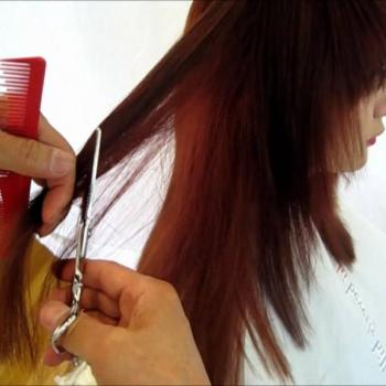 Hair Cutting at Lavender Herbal Beauty Mantra in Haripad