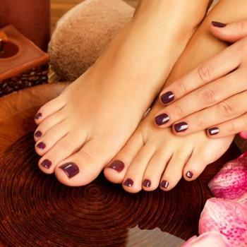 Pedicure & Manicure at Lavender Herbal Beauty Mantra in Haripad