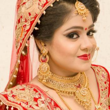 Bridal Makeup at Cute Beauty Parlour in Haripad
