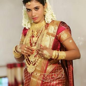Bridal Makeup at Anjana Shahanaz Herbals Care & Spa in Haripad