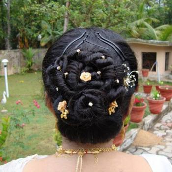 Hair Styling at Anjana Shahanaz Herbals Care & Spa in Haripad