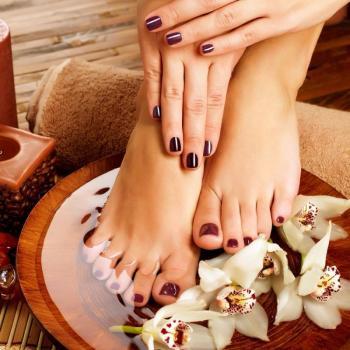 Pedicure & Manicure at Anjana Shahanaz Herbals Care & Spa in Haripad