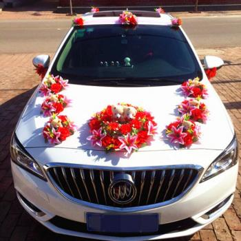 Car Decoration at Smitha Catering and Events in Thodupuzha
