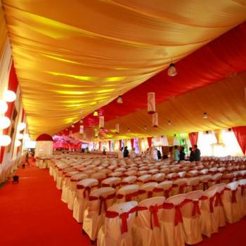 Panthal Works at Smitha Catering and Events in Thodupuzha