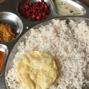 Homely Food at Silent Valley Gregorian Men's Hostel in Kothamangalam