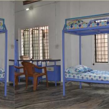 Six Bedded Rooms (All with Dual Bathrooms) at Daddy's Choice Men's Hostel in Kothamangalam